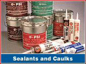 Sealants and Caulks