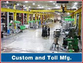 Custom and Toll Manufacturing